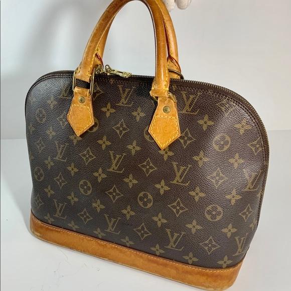 Louis Vuitton Alma monogram PM vintage